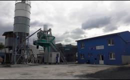 Výroba betonu a malty