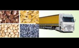 Zemědělské suroviny - jáhly, pohanka, zelenina