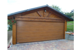 garážová vrata - hladký FLAT