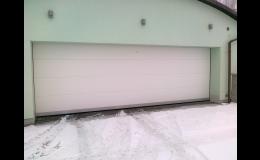 garážová vrata - V-profil
