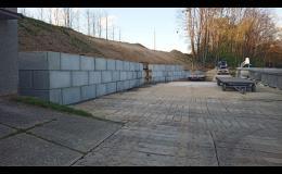 Betonové kostky pro stavbu bez nutného povolení