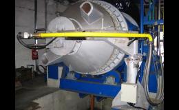 Řídicí systém rotační pece Třinec