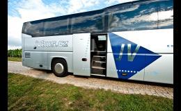 Autobusová doprava pro české a zahraniční cestovní kanceláře