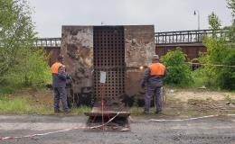 Likvidace ocelových konstrukcí