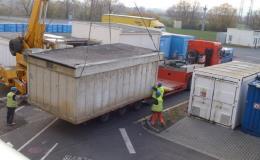 Pronájem kontejneru Opava