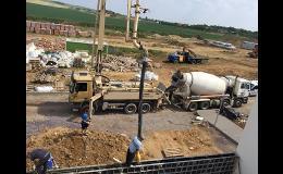 Čerpání betonu Znojmo