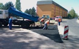 Opravy veřejných a soukromých komunikací, silnic a chodníků Hodonín