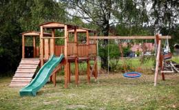 Chalupa, chata s dětským hřištěm, dětskou lanovkou - pobyty pro rodiny s dětmi Orlické hory