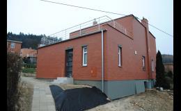 cihlová fasáda Zlínský kraj