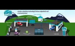 Výroba a dodávky technologií čistíren odpadních vod a autoumýváren