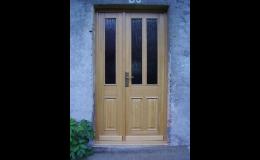 Výroba vchodových dveří
