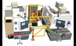 Robotizované pracoviště SP 15 CNC