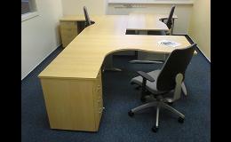 Návrhy a realizace interiérů kanceláří