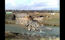 demolice mostu