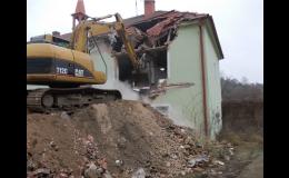Demolice domů, staveb a budov