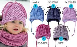 Dětské, chlapecké, dívčí pletené a bavlněné čepice e-shop