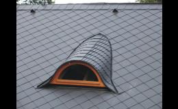 Dodávka a montáž střešní krytiny - střešní okna, nadkrokevní izolace