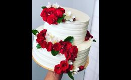 Zakázková výroba dortů - svatební, narozeninové, dětské, čokoládové, ovocné