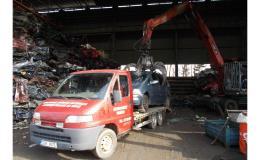 Ekologická likvidace vozidel Třebětice