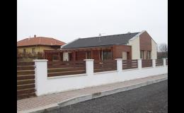 Výstavba pasivních a nízkoenergetických rodinných domů