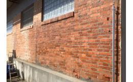 Fasáda po odstranění graffity