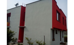 Natěračské práce - fasády, ploty, kovové a dřevěné konstrukce