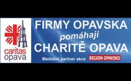 Koupí regionu přispějete Charitě Opava