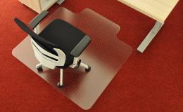 Ochranné plastové podložky pod kolečkové židle a křesla