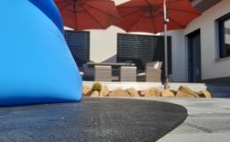 Ochranné gumové podložky pod bazény či vířivky Ostrava