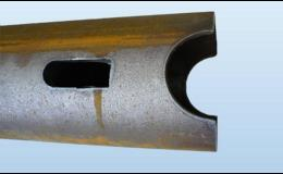 Tvarové dělení trubek a komponentů