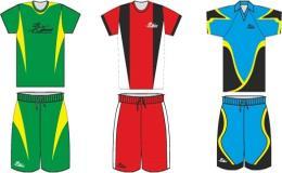 Zakázková výroba fotbalových, rugby dresů