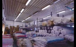 Velkoobchod metrového textilu - foto skladu