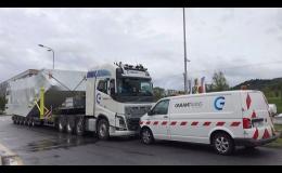 Vnitrostátní i mezinárodní kamionová přeprava