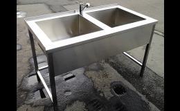 Gastro zařízení z nerezové oceli - výroba Ostrava