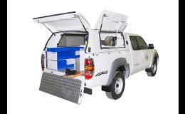 Speciální nástavby užitkových vozidel