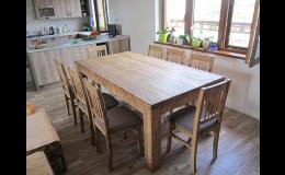 Výroba dřevěného nábytku Odry