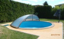 Zastřešení pro bazény - výroba na míru