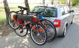 Nosiče a držáky jízdních kol pro obytné i osobní automobily