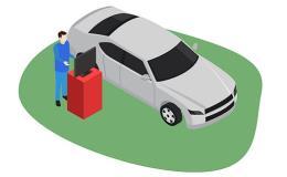 Pravidelná kontrola všech automobilů i motorek