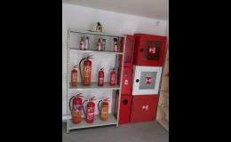 hasicí přístroje v kolínské prodejně