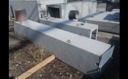 Betonové výpusti rybníků