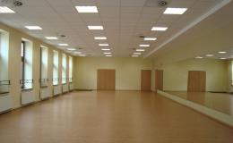 Cvičební sál pro lekce