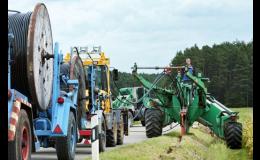 Kabely a vodiče pro infrastrukturu