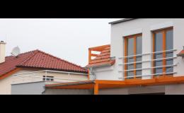 Hliníková zábradlí pro francouzská okna