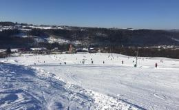Dětský Skipark, sjezdovky pro saně a boby, půjčovna a servis Lyží Olomouc