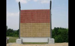 Jeden modul protihlukové stěny