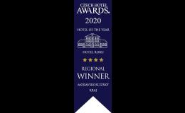 Hotel roku Czech Hotel Awards 2020 Moravskoslezský kraj