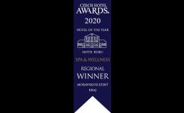 Hotel roku Czech Hotel Awards 2020 Moravskoslezský kraj - Spa a Wellness