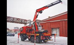 Montáž hydraulických jeřábů