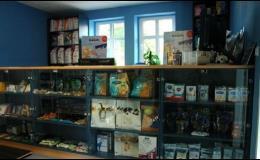 Recepce a prodej krmiv a jiného sortimentu